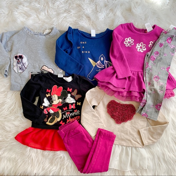 The Children's Place Other - 3t girls long sleeve/legging bundle